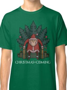 Santa Of Thrones - Christmas Is Coming Classic T-Shirt