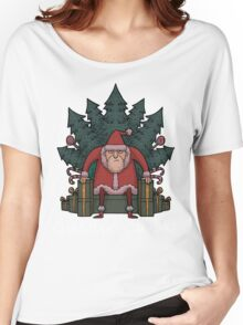 Santa Of Thrones - Christmas Is Coming Women's Relaxed Fit T-Shirt