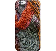 Discarded fishing nets detail iPhone Case/Skin