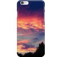 Suburban evening  iPhone Case/Skin