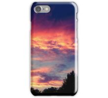 Suburban evening  iPhone Case/Skin