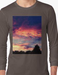 Suburban evening  Long Sleeve T-Shirt