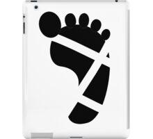 Sandals Foot Tan Line iPad Case/Skin