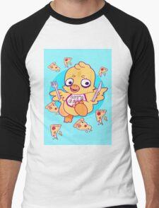 Let's Eat, Kids! Men's Baseball ¾ T-Shirt