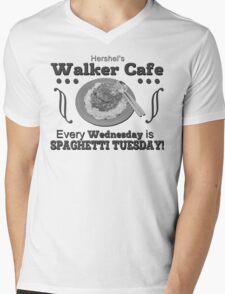 Hershel's Walker Cafe Mens V-Neck T-Shirt