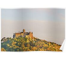 Sunset At St. Michaels Mount Poster