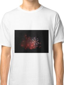 Fireworks in the Night - Colorful Backgrounds of Light and Wonder Classic T-Shirt
