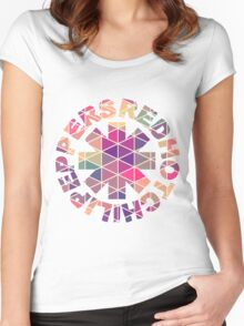 RHCP Rainbow Women's Fitted Scoop T-Shirt