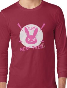 OVERWATCH NERF THIS Long Sleeve T-Shirt
