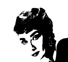 Audrey Hepburn Is Sabrina by Museenglish