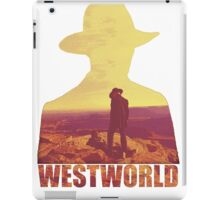 Westworld The Man in the Black iPad Case/Skin