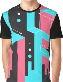 Flat Geometry Graphic T-Shirt