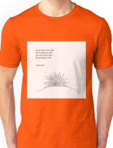 Rise- Rupi Kaur Unisex T-Shirt