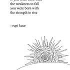 « Rise- Rupi Kaur » par katieshier