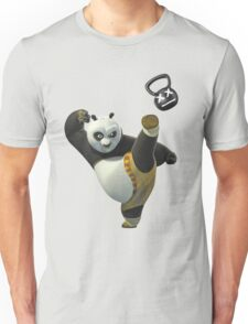 Kettlebell Kung Fu Panda Unisex T-Shirt