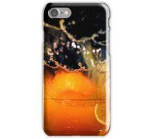 Orange Splash iPhone Case/Skin