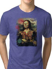 Smile Lisa. Tri-blend T-Shirt