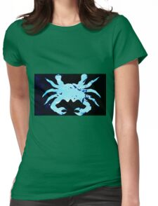 Sea crab Womens Fitted T-Shirt