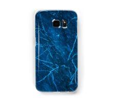 Tree at winter snowy night Samsung Galaxy Case/Skin