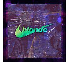 Frank - Blonde - Track 01 Photographic Print