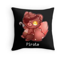 Foxy The Pirate Throw Pillow