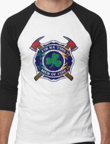 Fir na Tine - Men of Fire Men's Baseball ¾ T-Shirt