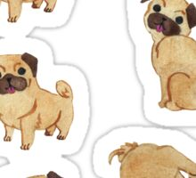 //Pugs Galore//  Sticker