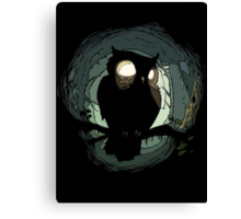 NIGHT OWL Canvas Print