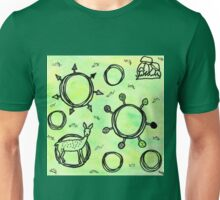 Muster Schwarzwald Unisex T-Shirt
