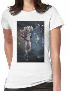 Harley Quinn G Womens Fitted T-Shirt