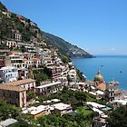 Picturesque Positano by hummingbirds