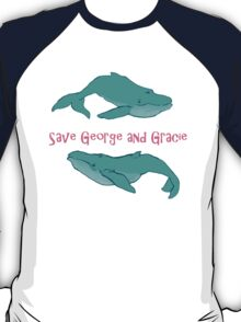 Star Trek: Save George and Gracie T-Shirt