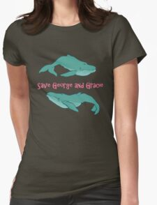 Star Trek: Save George and Gracie Womens Fitted T-Shirt