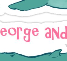 Star Trek: Save George and Gracie Sticker