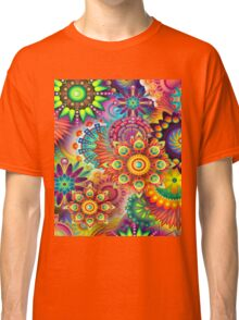 Flowers in abstract Classic T-Shirt