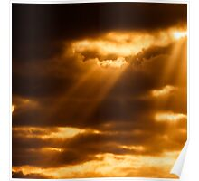 SUNSET-CLOUDS-1305 Poster