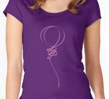 Let's Go Ballooning Women's Fitted Scoop T-Shirt