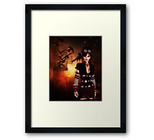 Trickster and Her Minions Framed Print
