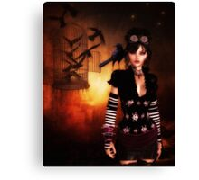 Trickster and Her Minions Canvas Print