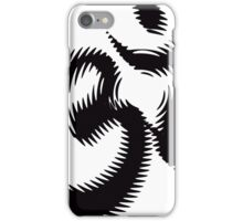 Ancient Rippling OM Symbol iPhone Case/Skin