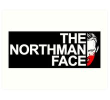 The Northman Face Art Print