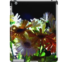 Backlit Flower Bouquet  iPad Case/Skin