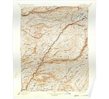 USGS TOPO Map California CA Big Trees 299222 1901 125000 geo Poster