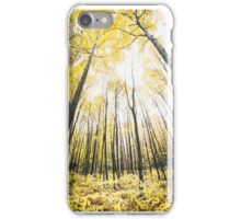 Yellow Trees  iPhone Case/Skin
