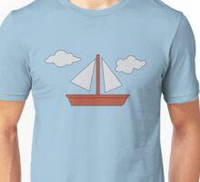 Simpson's Boat Picture Unisex T-Shirt
