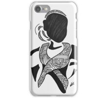 Breast Cancer Awareness in Black  iPhone Case/Skin