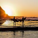 SURFING-SUNRISE-5916 by Paul Foley
