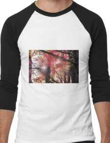 Psychedelic Forest II Men's Baseball ¾ T-Shirt