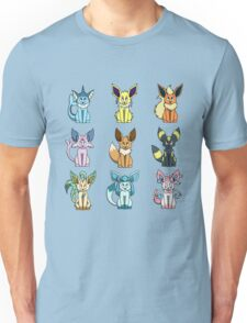 Tiny Eeveelutions Unisex T-Shirt