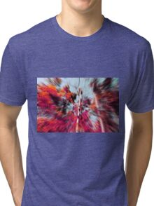 Psychedelic Forest III Tri-blend T-Shirt